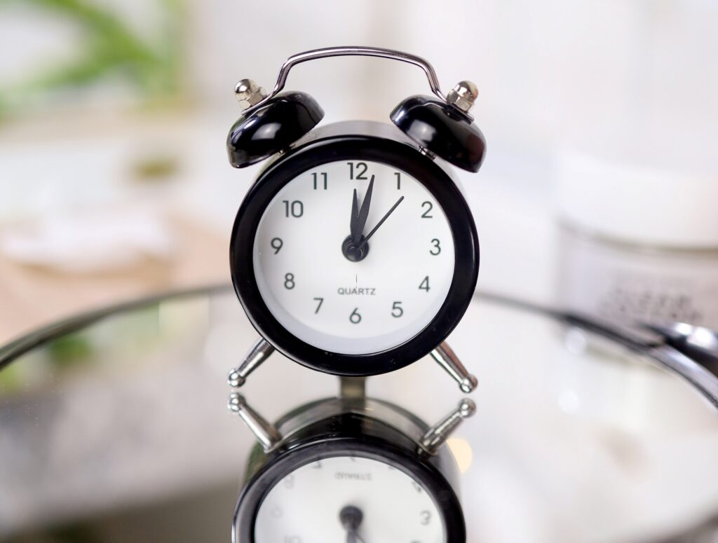 set a timer to increase your productivity