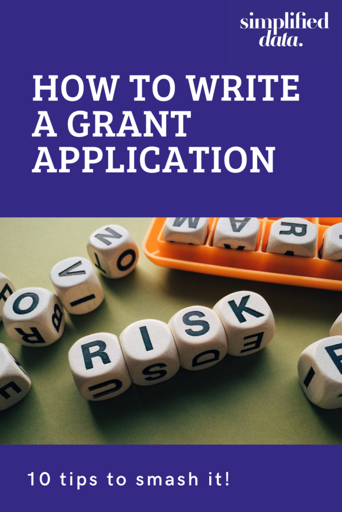 How to write a grant application - 10 tips to smash it